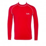 Thermal clothing fabrics Lycra - Brass red